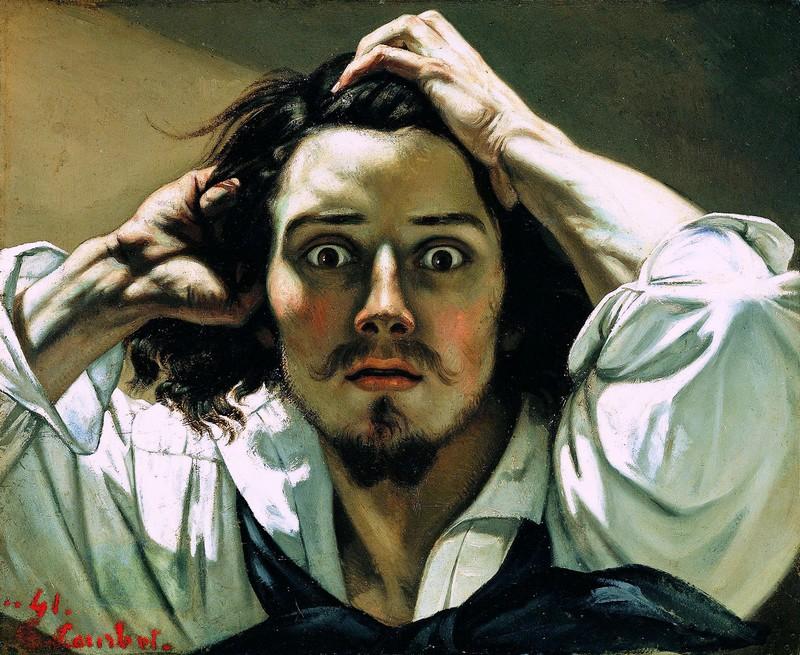"""Autoportrait """"le désespéré"""""""