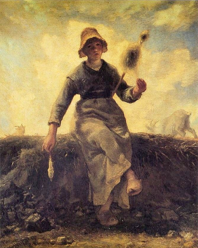 jean-francois-millet_la-fileuse-chevriere1869