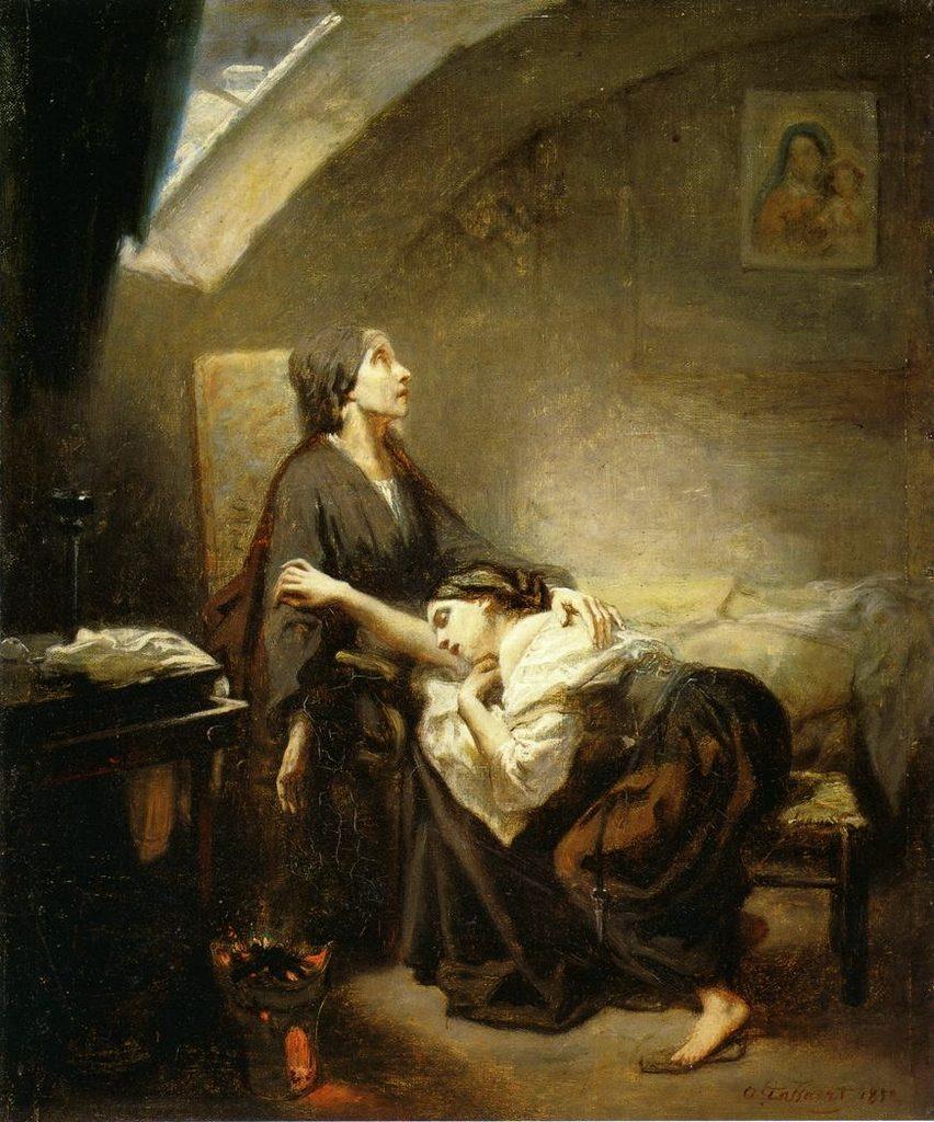 Octave_Tassaert-la famile malheureuse _1852