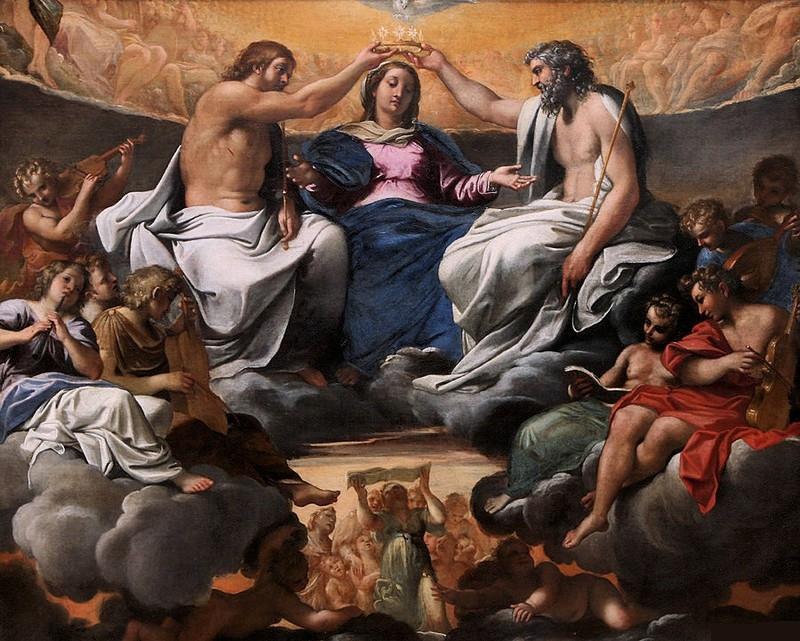 couronnement de la vierge 1596