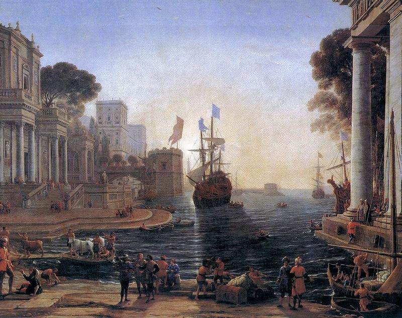 Ulysse remet Chryséis à son père, v. 1644. H. : 1,19 m. ; L. : 1,50 m. Musée du Louvre, Paris