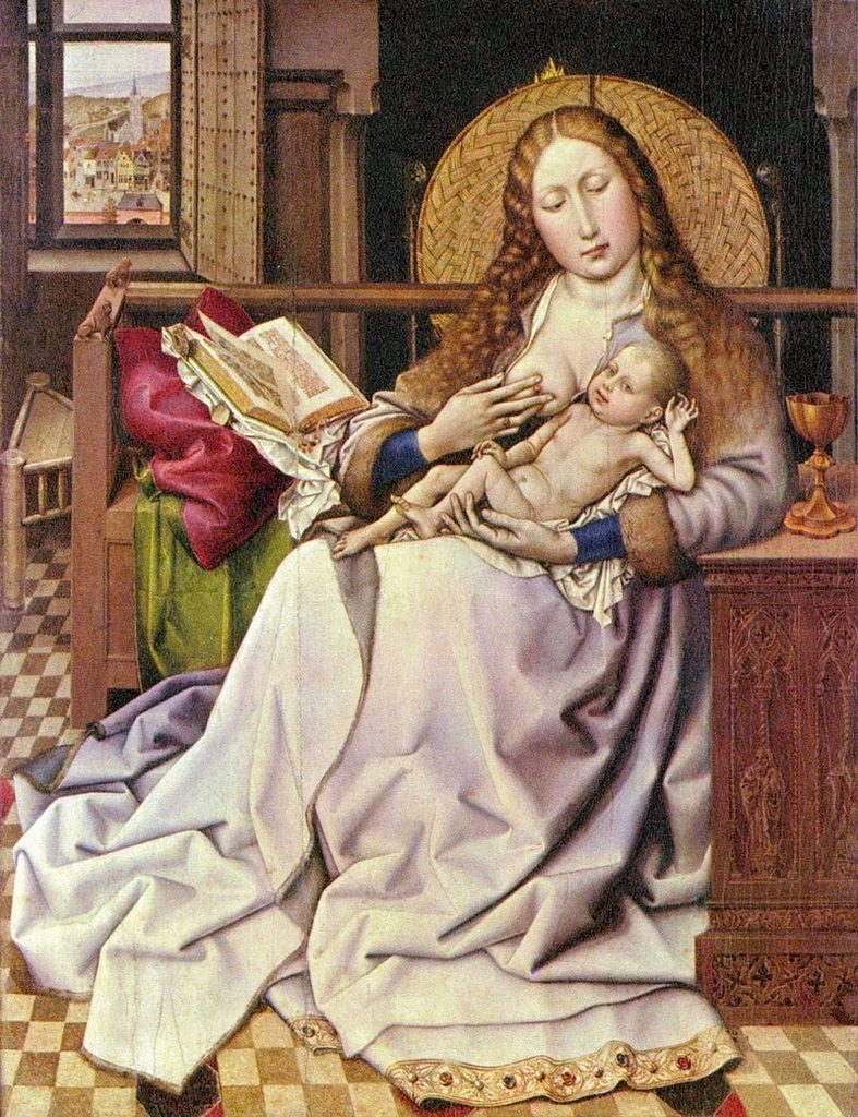 Robert-Campin_The-Virgin-and-Child-in-an-Interior-1440