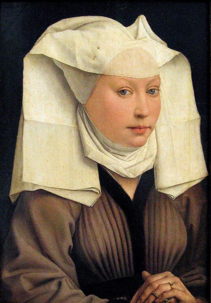 """Rogier van der Weyden """"Portret_van_een_Vrouw 1435"""