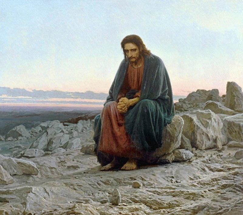ivan-kramskoi_christ-dans-le-desert-1872